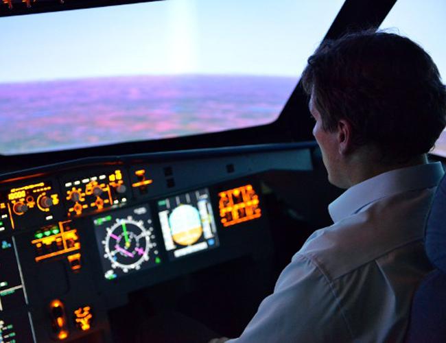 A320 Cockpit View