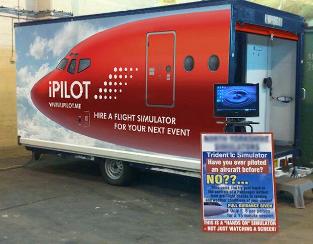 Hawker Siddeley Trident Mobile Simulator