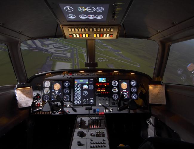 Inner Cockpit View