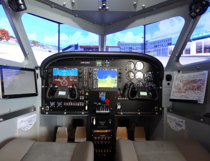 Beechcraft baron g58 simulator on motion plus force for Build your own house simulator