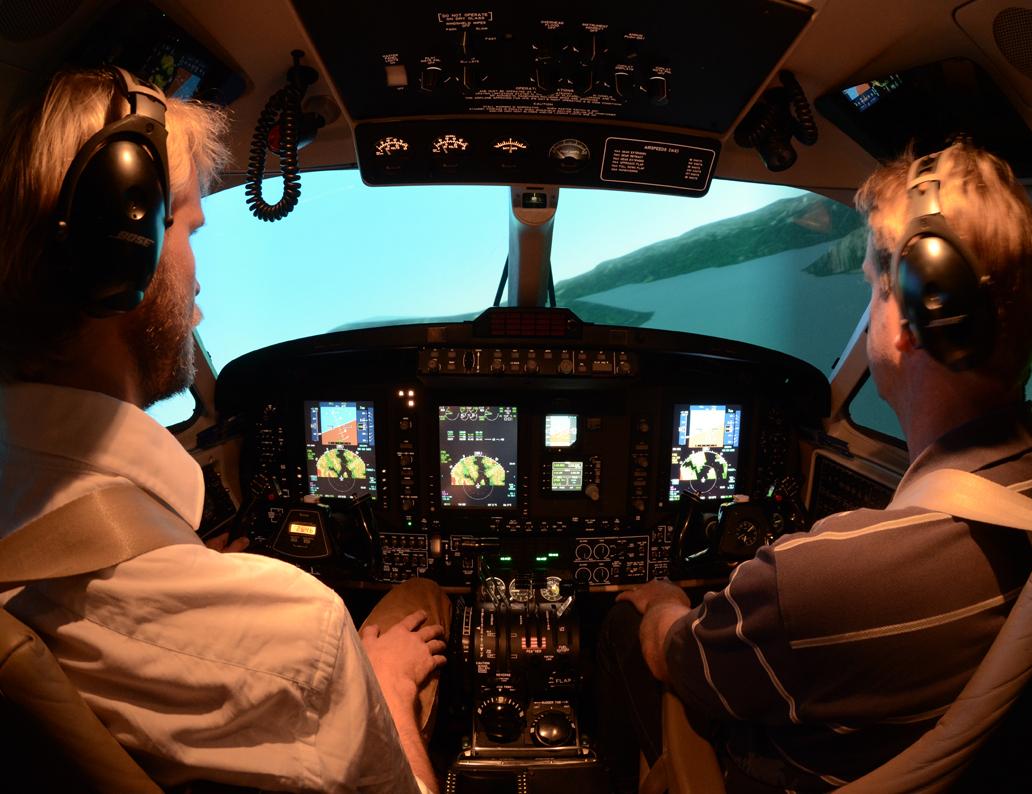 KingAir200 Cockpit