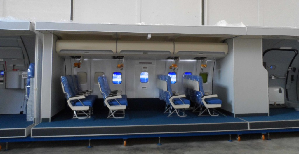 Aircraft Cabin Trainer A320 And B737 187 Flight Simulator Trader